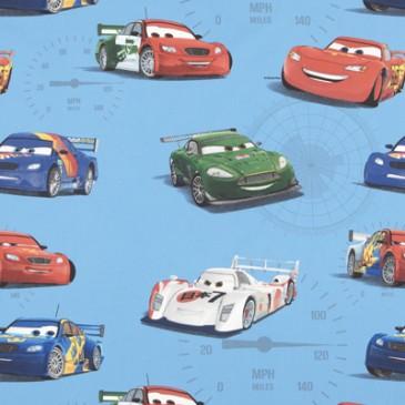 Cars Disney Fabric VELOCITY.40.140