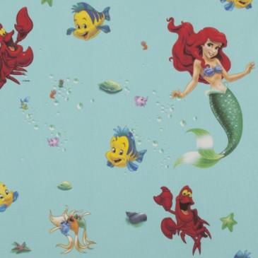 Disney The Little Mermaid Fabric SIRENA.45.140
