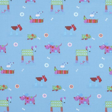 Fabric CHIENS.40.140