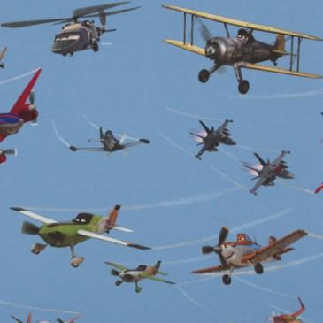 Disney Planes Fabric ACERS.38.140