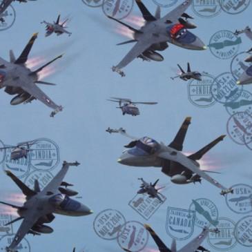 Disney Planes Fabric SUNMISION.38.150