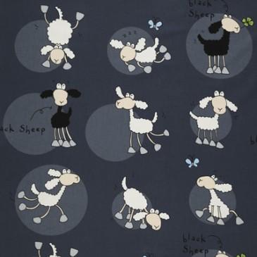 Fabric SHEEPNOIR.55.140