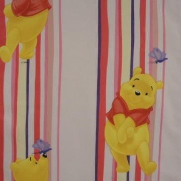 Disney Winnie the Pooh Fabric STRIPEWIN.33.140