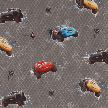 Cars Disney Fabric MUDRACE.550.140