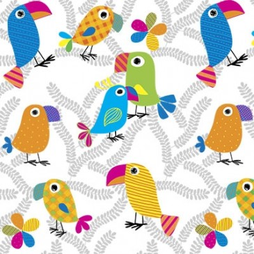 Fabric PARROT.25