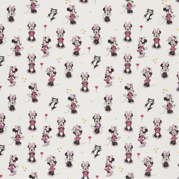 Disney Minnie Mouse Fabric SMILE.100.140